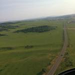 直升机空中看木兰围场
